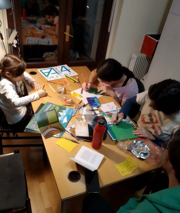 The educational endeavors of the Baha'i community that build bonds of friendship and capacity for service to society continue to advance in the face of movement restrictions in Italy and other countries as families work together in their homes with online support.
