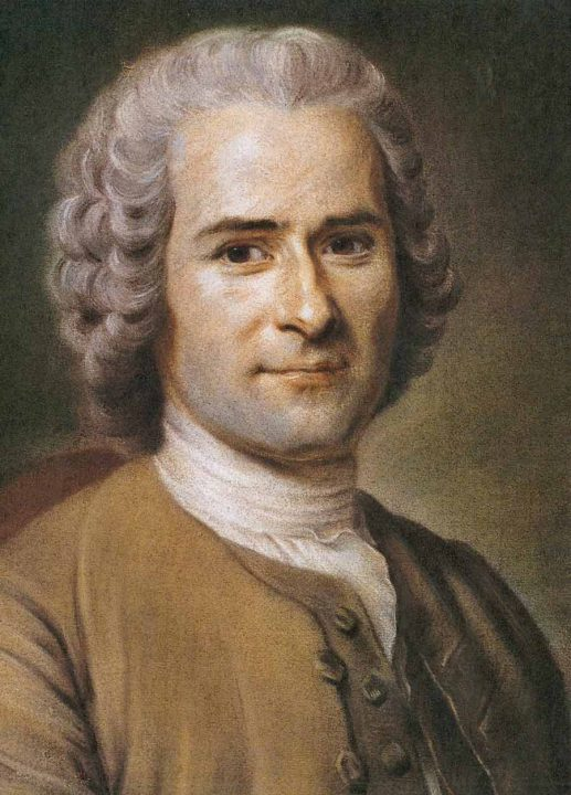 Jean-Jacques Rousseau  was a Genevan philosopher, writer and composer. His political philosophy influenced the progress of the Enlightenment throughout Europe, as well as aspects of the French Revolution and the development of modern political, economic and educational thought.