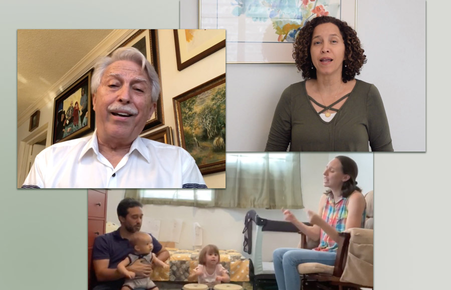 A recording of prayers made by the Baha'is of Puerto Rico has been shared through online tools as a way to connect people together and to inspire hope.