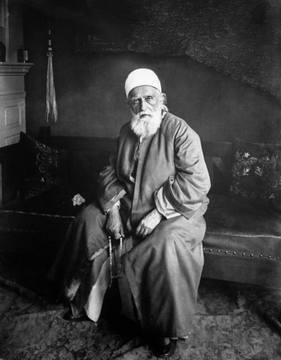 Abdu'l-Baha in New York, 1912.