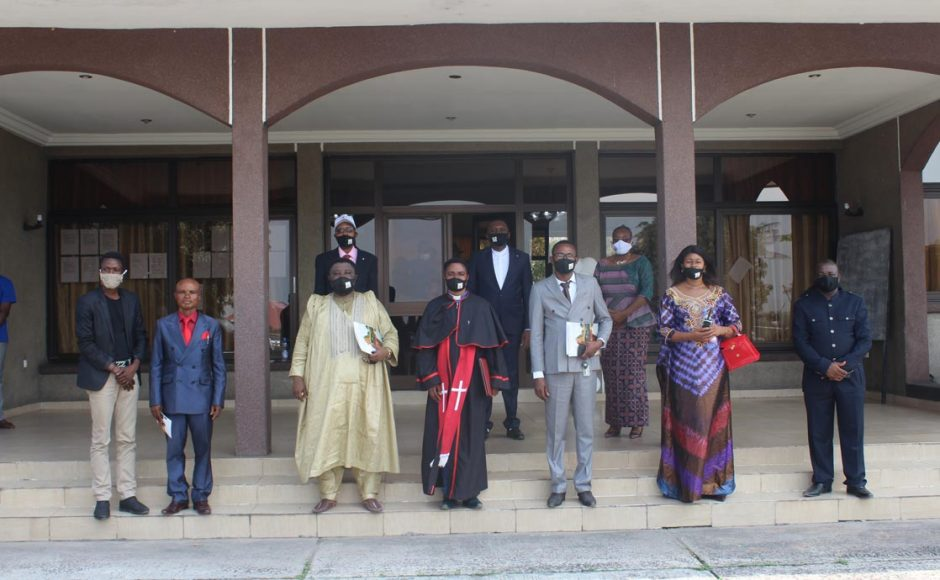 Lavoisier Mutombo Tshiongo, the secretary of the National Spiritual Assembly of the DRC, says that the presence of diverse people at the event signifies the unifying role of a House of Worship.