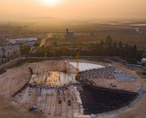 The Shrine of Abdu'l-Baha: Foundations Completed