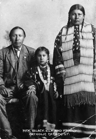 Black Elk and his family
