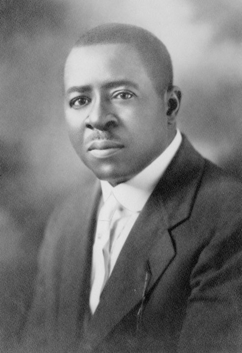 Portrait of Robert Sengstacke Abbott